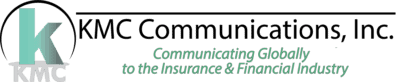 Insurance Copywriting & Finacial Copywriting | KMC Communications Retina Logo